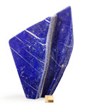 Lapidary Art:Carvings, Lapis Free Form Sculpture. Afghanistan. 12.40 x 3.35 x1.97 inches (31.50 x 8.50 x 5.01 cm). ...