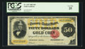 Large Size:Gold Certificates, Fr. 1197 $50 1882 Gold Certificate PCGS Very Fine 25.. ...