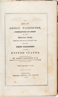 Books:Children's Books, [Children's, George Washington]. Aaron Bancroft. The Life of George Washington, Commander in Chief of the American Army,...