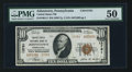 National Bank Notes:Pennsylvania, Johnstown, PA - $10 1929 Ty. 2 United States NB Ch. # 13781. ...