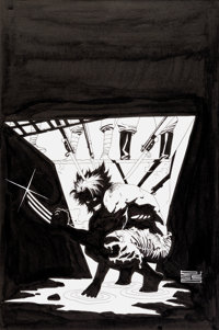 Eduardo Risso Logan #1 Cover Original Art (Marvel, 2008)