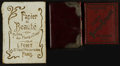 Books:Non-American Editions, Three Miniature Bound Notebooks. [n.d.]. . ... (Total: 3 Items)