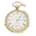 Timepieces:Pocket (pre 1900) , Independent Watch Co. 18 Size Pocket Watch. ...