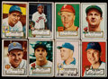 Baseball Cards:Lots, 1952 Topps Baseball Middle Series (69). ...