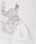 Original Comic Art:Sketches, Bernie Wrightson - Batman Sketch Original Art (2006)....