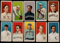 Baseball Cards:Lots, 1909-11 T206 White Borders Collection (10) - With Southern Leaguer& Elberfeld Scarcity. ...
