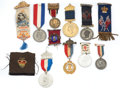 Miscellaneous:Ephemera, Twelve Jubilee commemorative souvenir medals with brooches andribbons. 1887, 1897.. ... (Total: 12 Items)