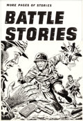 Original Comic Art:Covers, Mel Keefer (attributed) Battle Stories #11 Cover OriginalArt (Fawcett, 1953)....