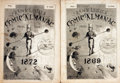 Books:Americana & American History, [Comic Almanacs]. Frank Leslie's Comic Almanac for the Years1869 and 1872. New York: Frank Leslie, [1868 and 18... (Total: 2Items)