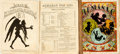 Books:Americana & American History, [Comic Almanacs, Thomas Nast]. Two Copies of Nast's IllustratedAlmanac for 1871. New York: McLoughlin Bros., [1... (Total: 2Items)