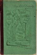 Books:Literature Pre-1900, [Humor]. Author Unknown. Uncle Samuel's Whistle; and What itCosts. A Tale. [N.p.], 1864....