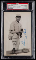 Autographs:Post Cards, Jimmie Foxx Signed Photograph Postcard PSA Authentic....