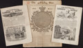 Miscellaneous:Newspaper, Two Issues of The Illustrated London News. 1849 and 1852.[together with:] A Partial Issue of The Sun... (Total: 3Items)