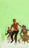 Original Comic Art:Covers, Men's Adventure Novel Cover Painting Original Art (Ballantine,undated)....