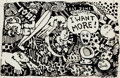 Original Comic Art:Covers, Gash Ray Zone Presents I Want More Cover Original Art(undated)....