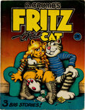 Silver Age (1956-1969):Alternative/Underground, R. Crumb's Fritz the Cat #nn Signed by Robert Crumb(Ballantine Books, 1969) Condition: VG....