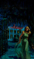 Original Comic Art:Covers, Harry Barton - Romance Paperback Cover Painting Original Art(undated)....
