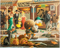 Memorabilia:Disney, Carl Barks Nobody's Spending Fool Signed Limited Edition Lithograph Print #218/350 (Another Rainbow, 1997). ... (Total: 2 Items)