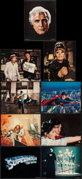 "Movie Posters:Action, Superman the Movie (Warner Brothers, 1978). Deluxe Lobby Card Setof 9 (11"" X 14""). Action.. ... (Total: 9 Items)"