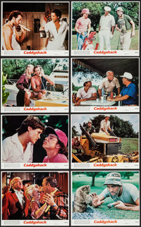 "Caddyshack (Orion, 1980). Mini Lobby Card Set of 8 (8"" X 10""). Comedy. ... (Total: 8 Items)"