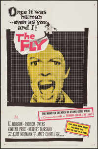 """The Fly (20th Century Fox, 1958). One Sheet (27"""" X 41""""). Science Fiction"""