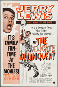 """The Delicate Delinquent (Paramount, R-1962). One Sheet (27"""" X 41"""") & Lobby Cards (6) (11"""" X 14&qu..."""