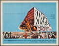 "Movie Posters:Historical Drama, King of Kings & Others (MGM, 1961). Half Sheets (3) (22"" X 28"")Style A. Historical Drama.. ... (Total: 3 Items)"