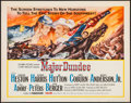 "Movie Posters:Western, Major Dundee (Columbia, 1965). Half Sheet (22"" X 28""). Western.. ..."