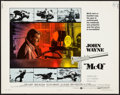 "Movie Posters:Action, McQ (Warner Brothers, 1974). Half Sheet (22"" X 28""). Action.. ..."