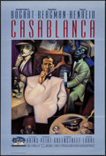 "Movie Posters:Academy Award Winners, Casablanca (Turner Entertainment, R-1992). 50th Anniversary OneSheet (27"" X 39.75"") SS. Academy Award Winners.. ..."