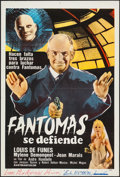 """Movie Posters:Foreign, Fantomas (20th Century Fox, 1964). Argentinean Poster (29"""" X 43""""). Foreign.. ..."""