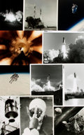 Books:Prints & Leaves, [Space Travel]. Archive of Approximately 200 Photographs and ImagesDepicting Historic Space Travel....