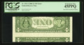 Error Notes:Inverted Reverses, Fr. 1933-J $1 2006 Federal Reserve Note. PCGS Extremely Fine45PPQ.. ...