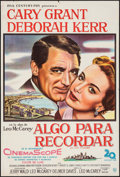 """Movie Posters:Romance, An Affair to Remember (20th Century Fox, 1958). Argentinean OneSheet (29"""" X 43""""). Romance.. ..."""