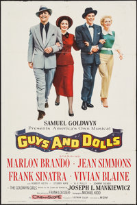"""Guys and Dolls (MGM, 1955). One Sheet (27"""" X 41""""). Musical"""