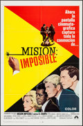 "Movie Posters:Action, Mission Impossible Versus the Mob (Paramount, 1968). SpanishLanguage One Sheet (27"" X 41""). Action.. ..."