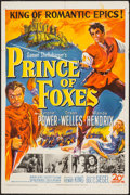 "Movie Posters:Adventure, Prince of Foxes (20th Century Fox, 1949). One Sheet (27"" X 41""). Adventure.. ..."