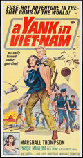 "Movie Posters:War, A Yank in Viet-Nam & Other Lot (Allied Artists, 1964). ThreeSheets (2) (41"" X 79""). War.. ... (Total: 2 Items)"
