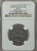 Colonials, (1688) American Plantations 1/24 Part Real, Sidewise 4 VF35 NGC. N. 8-C, W-1175, R.7. ...