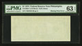 Fr. 1908-C $1 1974 Federal Reserve Note. PMG Choice Uncirculated 63 EPQ