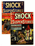 Golden Age (1938-1955):Horror, Shock SuspenStories #6 and 9 Group (EC, 1952-53) Condition: AverageVG.... (Total: 2 Comic Books)