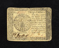 Colonial Notes:Continental Congress Issues, Continental Currency September 26, 1778 $40 Very Fine-ExtremelyFine. The center fold is a little hard, but does not break t...