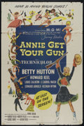 """Movie Posters:Musical, Annie Get Your Gun (MGM, 1950). One Sheet (27"""" X 41""""). Western Musical. Directed by George Sidney. Starring Betty Hutton, Ho..."""