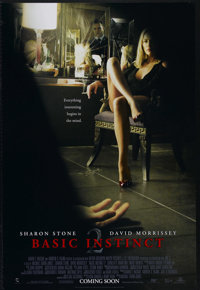 "Basic Instinct 2 (Sony Pictures Releasing, 2006). One Sheet (27"" X 41""). Advance. Thriller. Directed by Michae..."