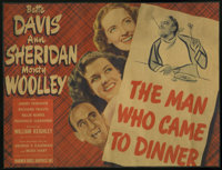 """Bette Davis Lot (Warner Brothers, 1930s) Title Lobby Card (10"""" X 13"""") and Lobby Cards (2) (10"""" X 13""""..."""