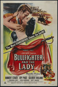"Movie Posters:Drama, Bullfighter and the Lady (Republic, 1951). One Sheet (27"" X 41""). Action/Romance. Directed by Budd Boetticher. Starring Robe..."