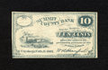 Obsoletes By State:Ohio, Cuyahoga Falls, OH- W.A. Stanford 10¢ 1862. A paper clipindentation is noticed on this store scrip. About Uncirculated....