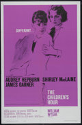 "Movie Posters:Drama, The Children's Hour (United Artists, 1962). One Sheet (27"" X 41"").Drama. Directed by William Wyler. Starring James Garner, ..."