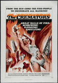 """Movie Posters:Science Fiction, The Cremators (New World Pictures, 1972). One Sheet (27"""" X 41""""). Sci-Fi. Directed by Harry J. Essex. Starring Maria de Arago..."""