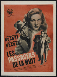 """Dark Passage (Warner Brothers, 1947). French Petite (23.5"""" X 31.5""""). Thriller. Directed by Delmer Daves. Starr..."""